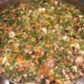 מרק ירקות חם ועשיר